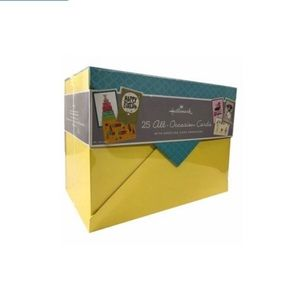 Hallmark 25 All-Occasion Cards with Card Box